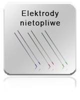 Elektrody nietopliwe